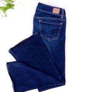 American Eagle Artist Super Stretch Blue Jeans